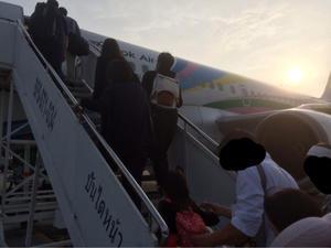 2017年5月サムイ島旅行記 *** バンコクエアウェイズ🛫  バンコク→サムイ島*** - ぶーさんの日記 2