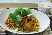 ファーストキッチン 『イタリア夏野菜とモッツァレラの冷製トマトパスタ』 - My favorite things