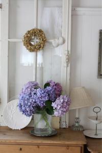 紫陽花の季節   ///   リュスティックレッスン、始まってます。 - S*basket