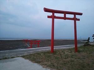 大魚神社の海中鳥居 - tekotanのあしあと