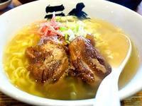 神楽(からく)@学園南 ☆ (肉(ソーキ)そば・期間限定) - 麺ある記 山陰 ~ラーメンの旅~