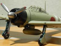 ハセガワ1/72零戦21型(完成) - サンフィッシュ飛行隊