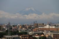 雨上がりの富士山 - お散歩写真     O-edo line