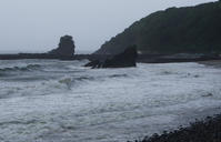 夏至の嵐 - 雲空海