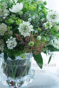 6月マダムクラス - VERDURE 「ヴェルデュール花教室」花暮らしブログ