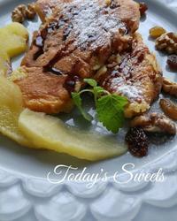 息子のフレンチトーストおやつ - 料理研究家ブログ行長万里  日本全国 美味しい話