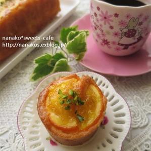 オレンジのカップケーキ&パウンドケーキ - nanako*sweets-cafe♪