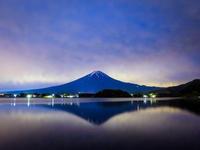 2017.6.22今朝の富士山3枚(富士河口湖町) - ダイヤモンド△△追っかけ記録