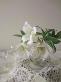 布花のユリ - handmade flower maya