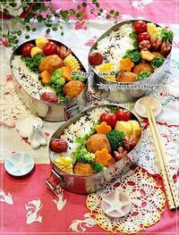 ポテコロ弁当と今夜のおうちごはん♪ - ☆Happy time☆