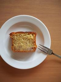 バナナケーキ - にじいろのじかん