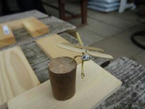 竹製トンボのクラフト・・・うみべの森 - 活き生き in 岬町