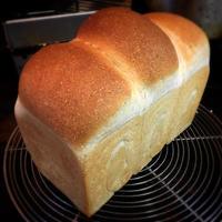 ホシノ丹沢&あこ酵母で全粒粉山食🎵 - nao's daily bread