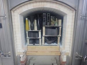 窯上げ作業 - 花器工房日記