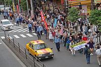 築地でええじゃないか 世界難民の日 新宿ヘイトデモを許すな - ムキンポの exblog.jp