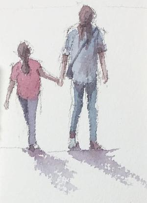 時を歩く - 赤坂孝史の水彩画