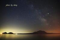 支笏湖星景 - ロマンティックフォト北海道☆カヌードデバーチョ