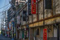 記憶の残像 2017年 花の東京 -16 東京都福生市 原色の街 - ある日ある時 拡大版