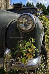 古いタクシー - Mark.M.Watanabeの熊本撮影紀行