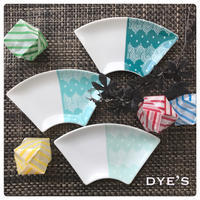❇︎レトロ柄の扇皿❇︎ - Happy Dye's Life