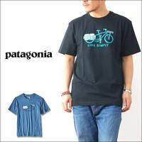 patagonia [パタゴニア正規代理店] MEN'S LIVE SIMPLY CARGO BIKE COTTON T-SHIRT [39067]コットン・Tシャツ MEN'S - refalt   ...   kamp temps