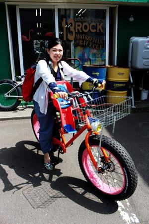 納車です。 - 13ROCK(ヒサロック) 札幌 ビーチクルーザーパラダイス