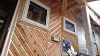 【千年の家・・・外の工事進んでいます】 - 木楽な家 現場レポート