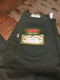 6月24日(土)入荷 !60s〜LEVI'Sリーバイズ 518 BIG E  カツラギ JEANS all cotton - ショウザンビル mecca BLOG!!