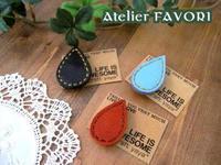 革小物 × ブローチ - Atelier FAVORI