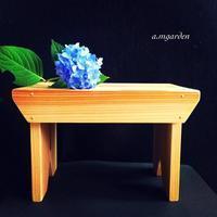 木製スツールworkshop。 - a.mgarden