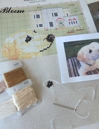 今日は図案と材料準備 - Bloom のんびり日記