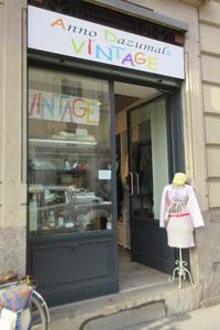 ミラノの素敵な古着屋さん その4~Anno Dazumals Vintage~ - ビーズ・フェルト刺繍作家PieniSieniのブログ