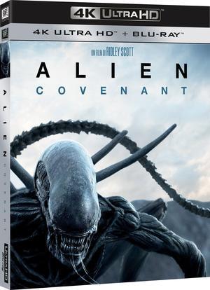 「エイリアン:コヴェナント」イタリア盤UHD/Blu-rayのパッケージ - Suzuki-Riの道楽
