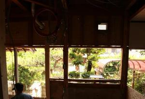 朝に出会った! - アナログの家が好き!高座山の工務店です。
