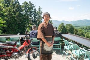 雑誌記者さんの 本瀧寺「ほんたき 山のカフェ」レポート♪♪ - The 30th Freedom カワサキZ&ハーレー直輸入日記