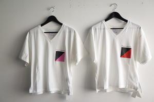 OKIRAKU★Print Vneck T-Shirts★ - R by cocoryne 2‐9‐16‐3F honchou aobaku        sendai miyagi Japan  TEL 022-713-6411
