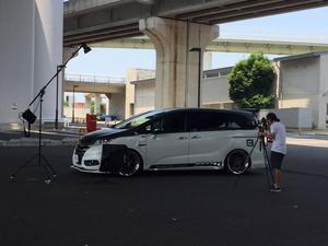 スタイルワゴンの撮影&マッスルカーのライティング作業♪ - Macchinaの公式ブログ