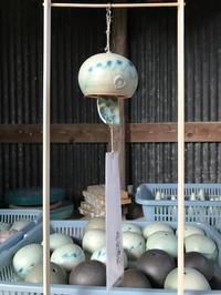 今年の風鈴は500個 - 福美窯