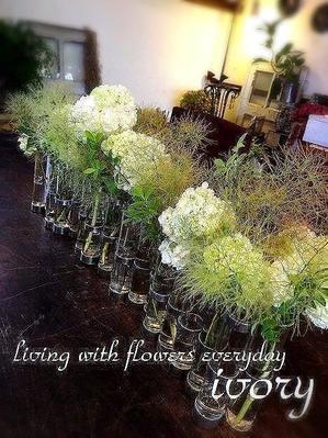 Flower and cafe 花空間 ivory (アイボリー)