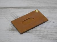 ステッチ入りパスケース - 雑貨屋 anshare project の日記