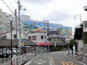 壁画の見える道路 - 風景この一枚 Ⅱ