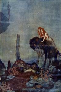 エドマンド・デュラックの人魚絵② - Books