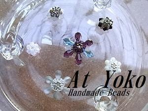 さてさて・・・・ - glassbeads At Yoko...バーナーワークの手作り作品