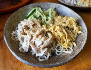 冷たい中華麺。レシピブログ - べルリンでさーて何を食おうかな?