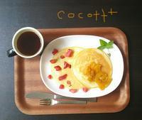 ホットケーキ <6月のお菓子①> - cocott+