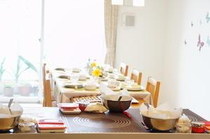 パンとお菓子とデリご飯レッスン*夏野菜のフォカッチャつくろう -         川崎市のお料理教室 *おいしい table*        家庭で簡単おもてなし♪