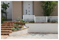 春日市にお住いのYさま宅のご紹介です。 - natu     * 素敵なナチュラルガーデンから~*     福岡でガーデンデザイン、庭造り、外構工事をしてます