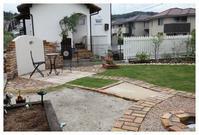 春日市にお住いのMさま宅のご紹介です。 - natu     * 素敵なナチュラルガーデンから~*     福岡でガーデンデザイン、庭造り、外構工事をしてます