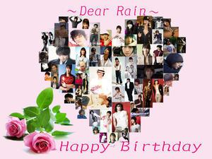 Rain Happy★Birthay★36 - Rain ピ 韓国★ミーハー★Diary