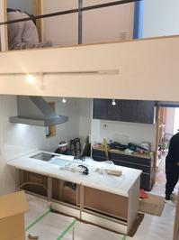 キッチンの施工、ニッチの一工夫。 - 実方工務店-リテック新小岩 店長の施工blog